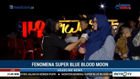 Gerhana Bulan Tidak Terlihat Terlalu Jelas di Palembang