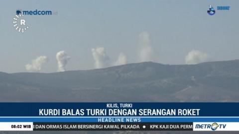 Militer Turki Kembali Serang Kurdi di Suriah