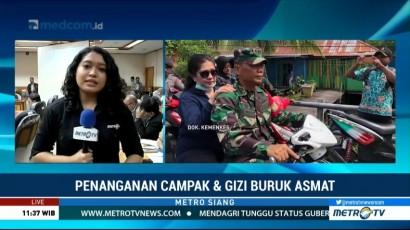 Pemerintah-DPR Gelar Rapat Bahas Penanganan Campak dan Gizi Buruk di Asmat