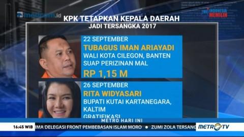 Deretan Kepala Daerah yang Terjerat Kasus Dugaan Korupsi Selama 2017