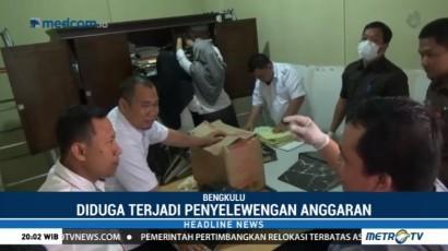 Kantor Wali Kota Bengkulu Digeledah