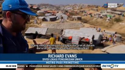 Pengungsi Rohingya Terancam Bencana Banjir dan Longsor