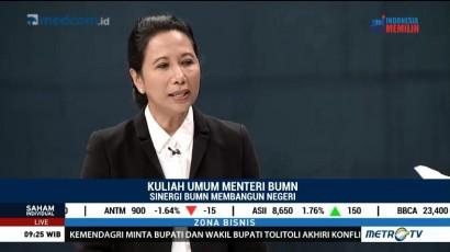 Menteri Rini Beri Kuliah Umum Bahas <i> Holding </i> BUMN