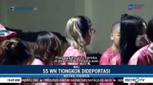 Imigrasi Ngurah Rai Deportasi 55 WN Tiongkok