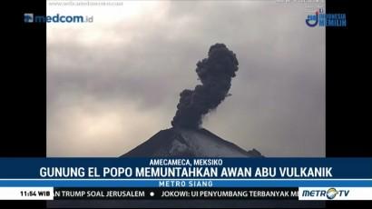 Gunung Berapi Paling Berbahaya di Meksiko Meletus