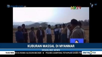 Myanmar Tampik Laporan 5 Kuburan Massal di Rakhine
