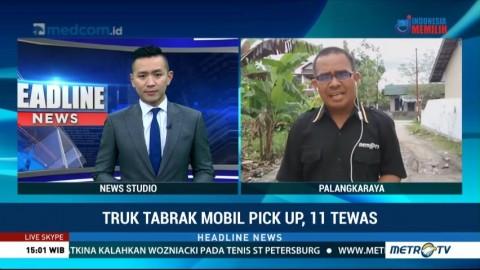 Tiga Korban Tabrakan Maut Truk vs <i>Pick Up</i> Dirawat di RS Kasongan