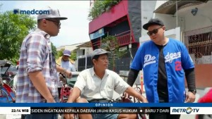 Tukang Becak: Kami Masih Dibutuhkan di Jakarta