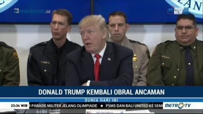 Trump Ancam Potong Dana Bantuan Bagi Negara yang Tolak Kebijakan Soal Imigran