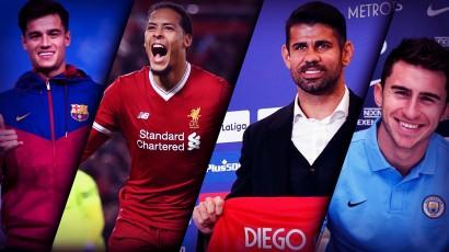 Ini Dia 10 Transfer Pemain Bola Termahal di Januri 2018
