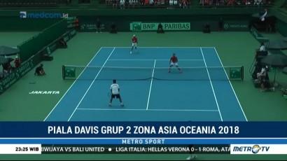 Piala Davis, Indonesia Menyerah 1-4 dari Filipina