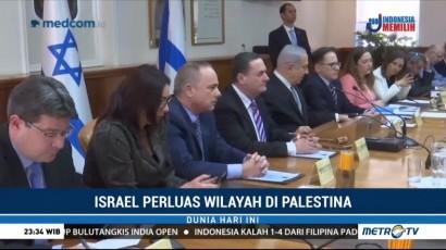 Israel Kembali Caplok Wilayah Palestina