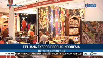Peluang Ekspor Produk Indonesia