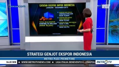 Catatan Ekspor Impor Indonesia pada 2017