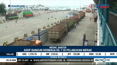 ASDP Bangun Dermaga Baru di Pelabuhan Merak