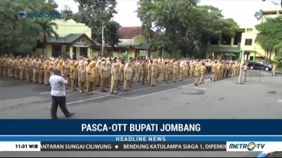 Pascapenahanan Bupati, Aktivitas Pemkab Jombang Berjalan Normal