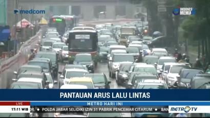 Kemacetan di Kuningan Disebabkan Proyek MRT