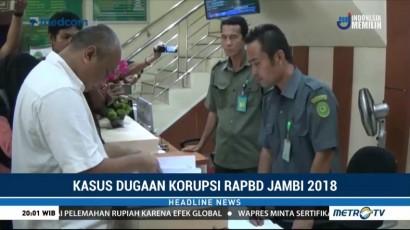 Berkas Perkara Kasus Suap RAPBD Jambi Dilimpahkan ke PN Jambi