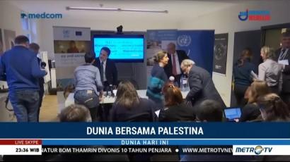 Uni Eropa Gelontorkan Dana Rp700 M untuk Palestina