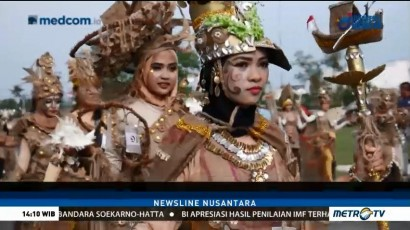 Adu Kreasi Barang Bekas di Lingga Recycle Carnival 2018