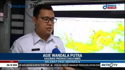 Jawa, Kalimantan dan Sulawesi Masih Dilanda Hujan Sepekan ke Depan