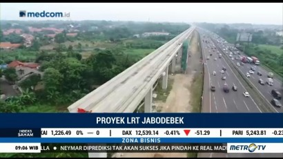 Pembebasan Lahan LRT Jabodebek Sudah 90%