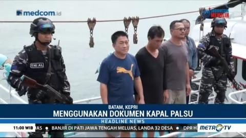 TNI AL Amankan Kapal Penyelundup