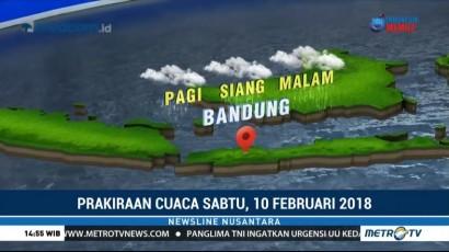 Sebagian Pulau Jawa Diprediksi Hujan di Akhir Pekan