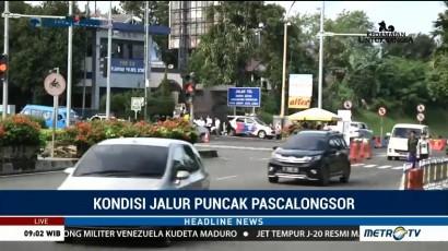 Arus Lalu Lintas di Simpang Gadog Lancar