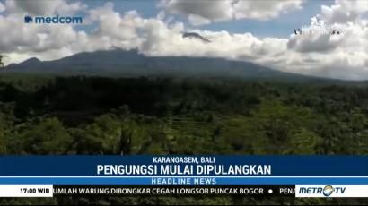Pengungsi Gunung Agung Diizinkan Pulang