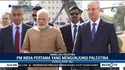 Modi Jadi PM Pertama India yang Kunjungi Tepi Barat