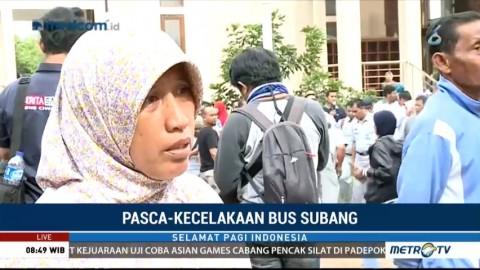 Keluarga Korban Panik saat Dengar Kabar Kecelakaan Bus di Tanjakan Emen