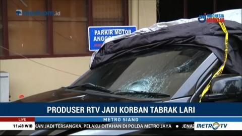 Polisi Tetapkan MJ Sebagai Tersangka Kasus Tabrak Lari Produser RTV