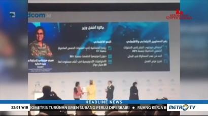 Sri Mulyani Jadi Menteri Terbaik Dunia Pertama di Asia