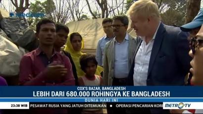 Dukungan Inggris Bagi Pengungsi Rohingya