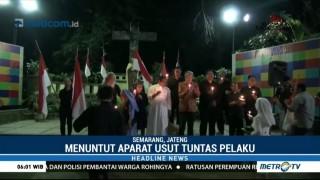 Pelita Semarang Gelar Aksi Solidaritas untuk Korban Penyerangan Rumah Ibadah