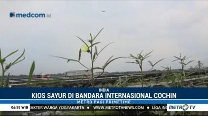 Unik, Ada Pasar Sayur di Bandara India