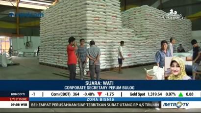57 Ribu Ton Beras Impor Tiba di Indonesia