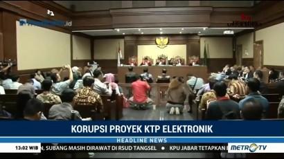 Agun Gunandjar & Taufik Effendi Bersaksi di Sidang Setnov