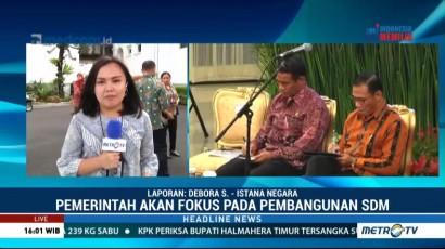 Jokowi Minta Menteri Fokus Pada Pembangunan SDM