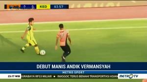 Debut Manis Andik Vermansyah Bersama Kedah FA