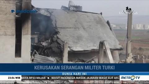 Turki Terus Lancarkan Serangan terhadap Milisi Kurdi di Suriah