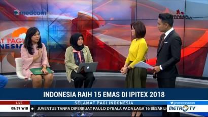 Indonesia Raih 15 Emas di IPITEX 2018 (2)