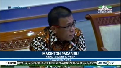 Raker Komisi III, Masinton Soroti Penolakan Rekomendasi Pansus Angket oleh KPK