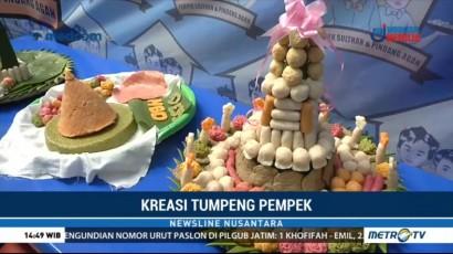 Tumpeng Pempek jadi Daya Tarik Pecinta Kuliner Palembang