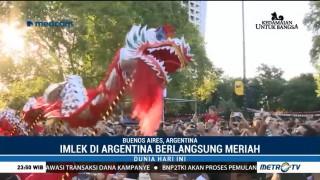 Kemeriahan Perayaan Imlek di Argentina & Italia