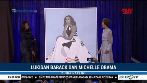 Lukisan Barack dan Michelle Obama Dirilis