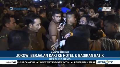 Kunjungan Kerja Presiden Jokowi di Ambon