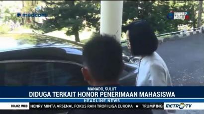 KPK Periksa Rektor Unsrat Terkait Honor Panitia Penerimaan Mahasiswa