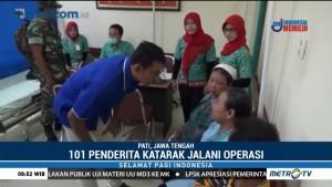 101 Penderita Katarak di Pati Ikut Operasi Gratis dari Media Group